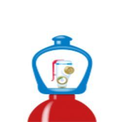 alphagaz™ mix ch4 5%/argon botella sm...